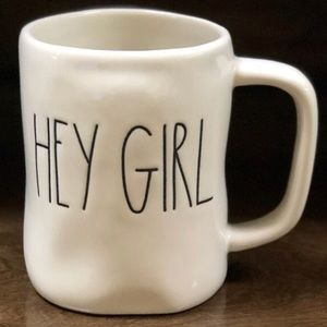 "🎈RESTOCKED🎈 NEW Rae Dunn ""HEY GIRL"" Mug"
